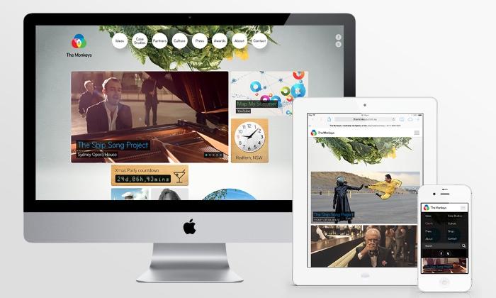 The Monkeys Agency Site