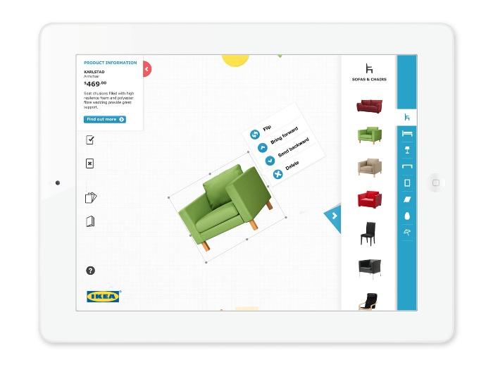 IKEA Klippbok iPad App